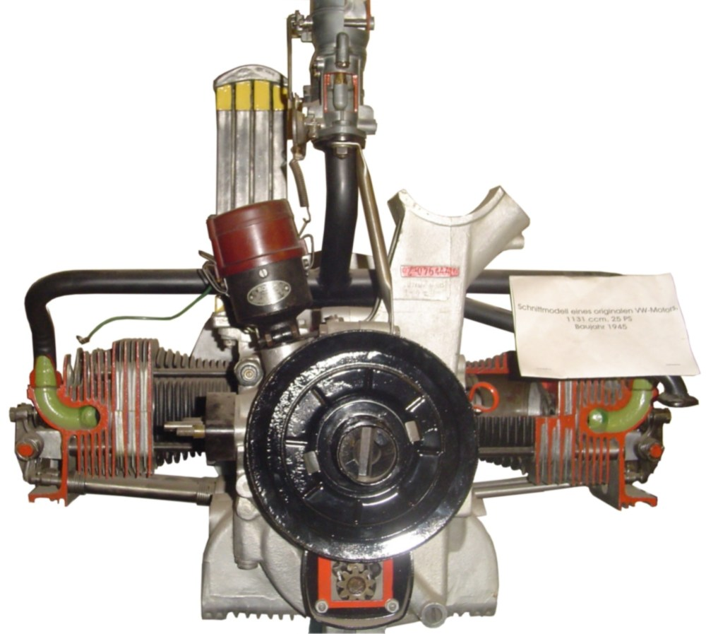 medium resolution of the flat 4 volkswagen air cooled engine