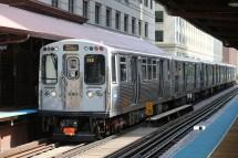 Chicago CTA Train Cars