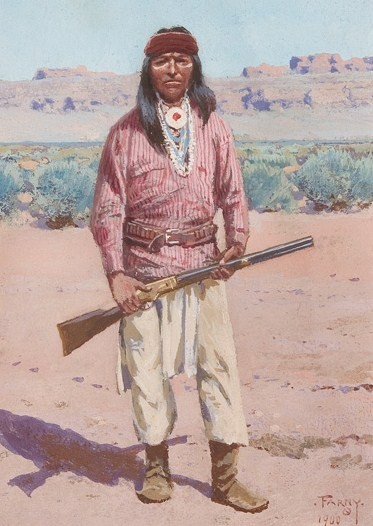 Navajo Tribe Weapons And Tools