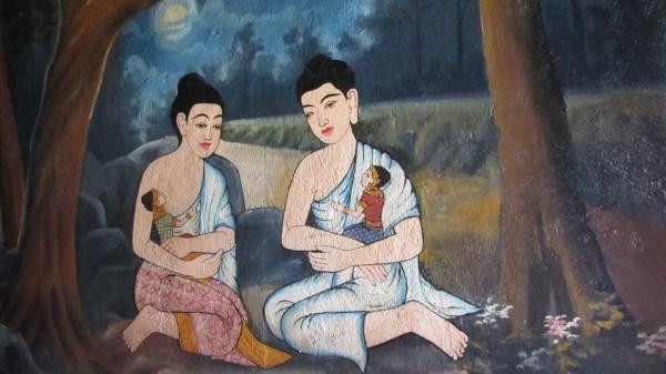 File Khmer Painting Wat - Wikimedia Commons