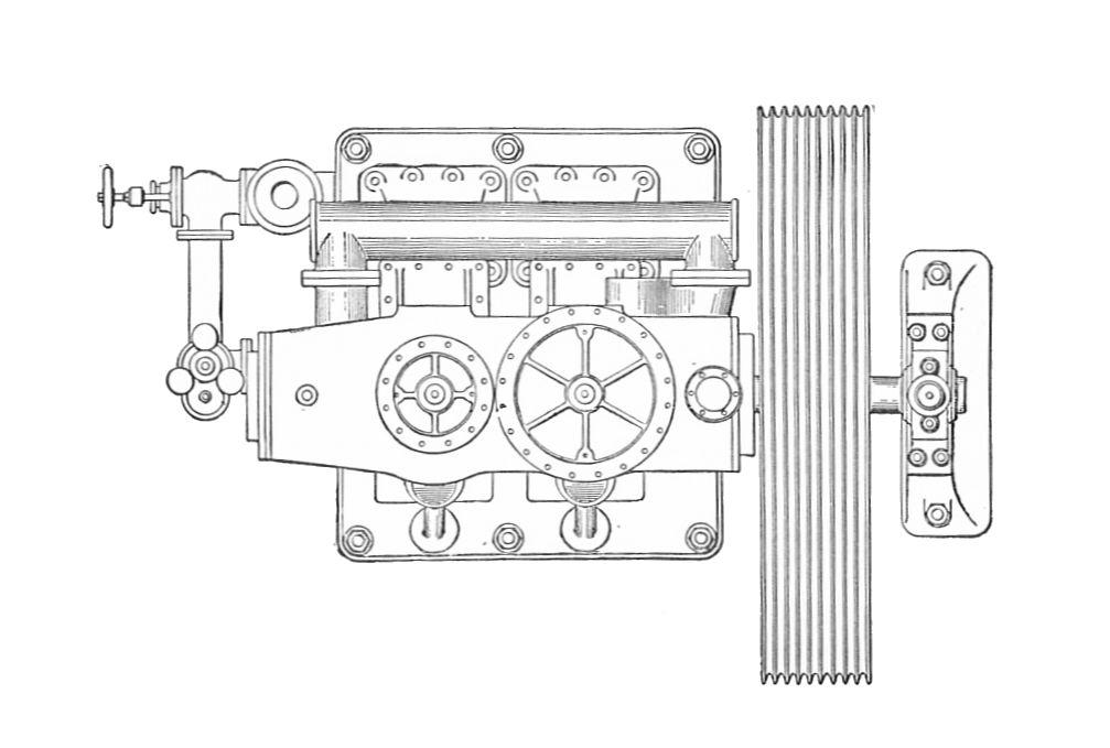 File:Mather & Platt engine, plan view (Rankin Kennedy