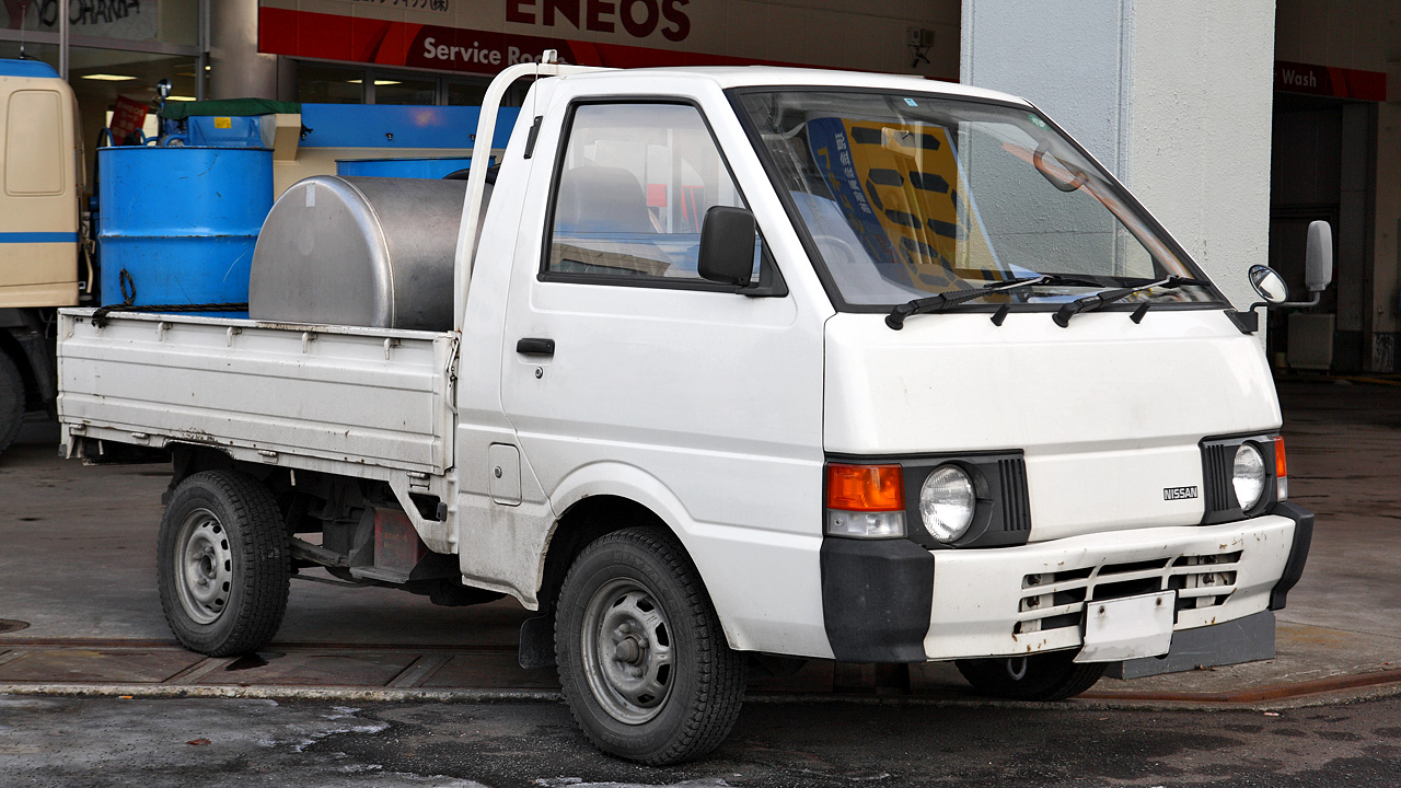 hight resolution of nissan vanette truck