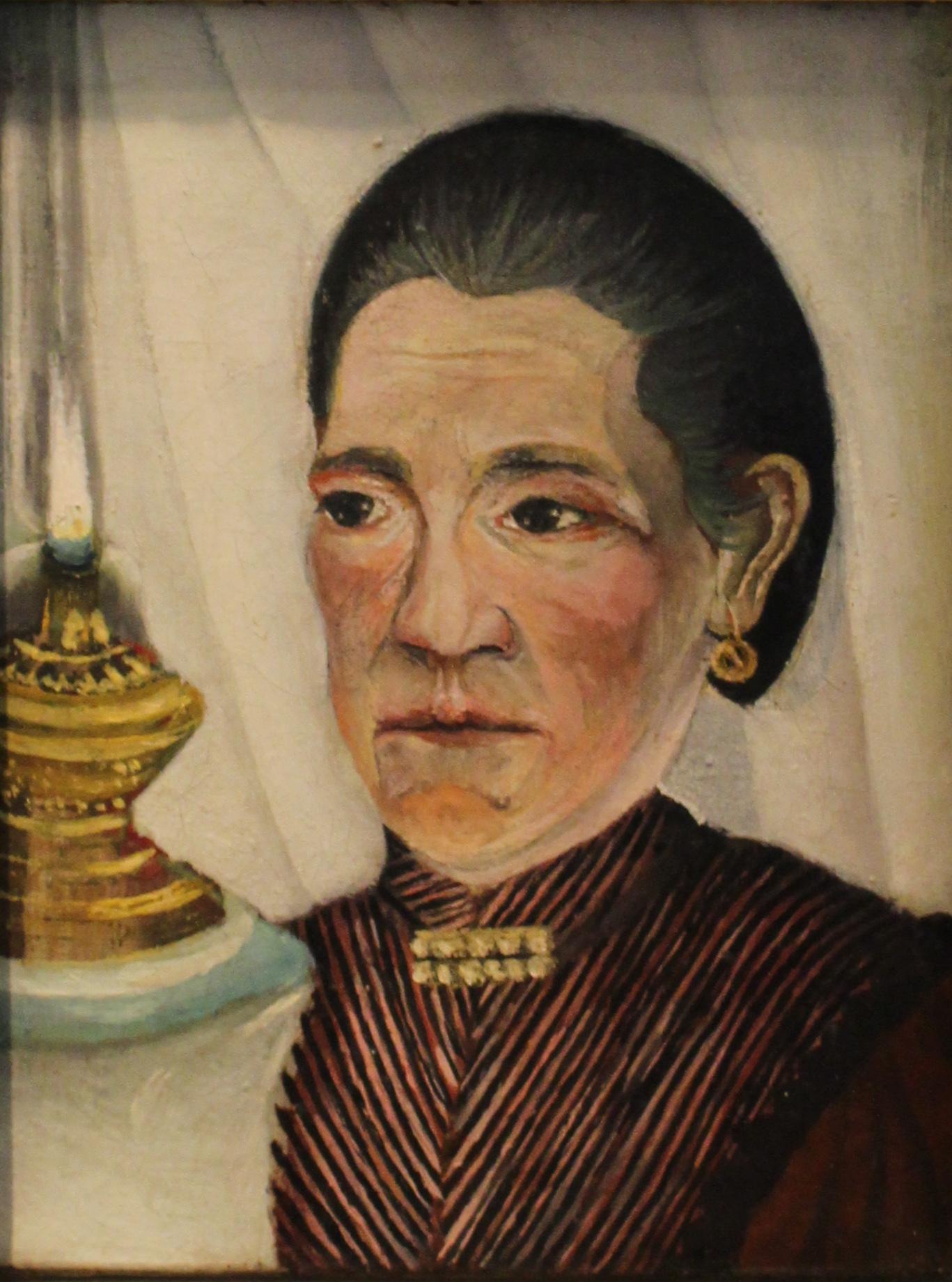 La Femme De L Artiste : femme, artiste, File:Portrait, Seconde, Femme, L'artiste, Henri, Rousseau, Musée, Picasso, Paris.jpg, Wikimedia, Commons