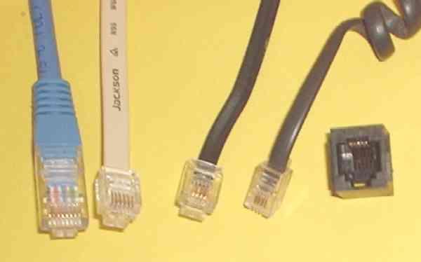 Rj9 Connector Wiring Diagram Rj Steckverbindung Wikipedia