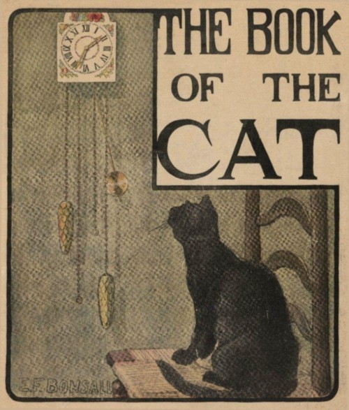 The Book of the Cat by Elizabeth Fearne Bonsall, 1903, via Wikimedia Commons.