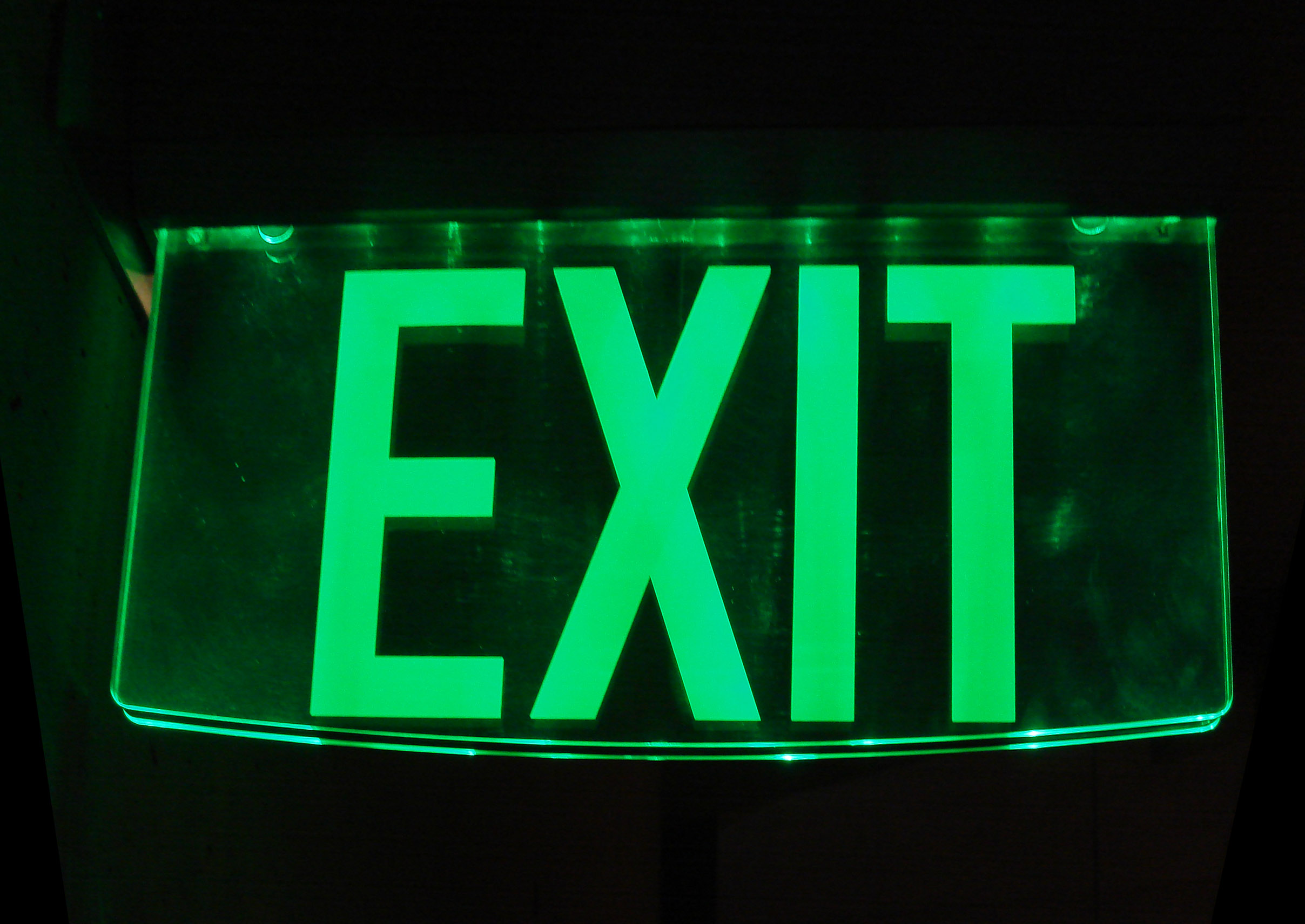 Fileglass Exit Signg  Wikimedia Commons