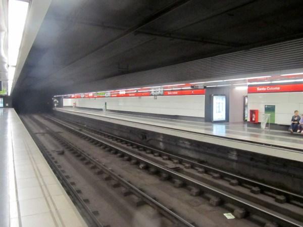 Santa Coloma Barcelona Metro - Wikipedia