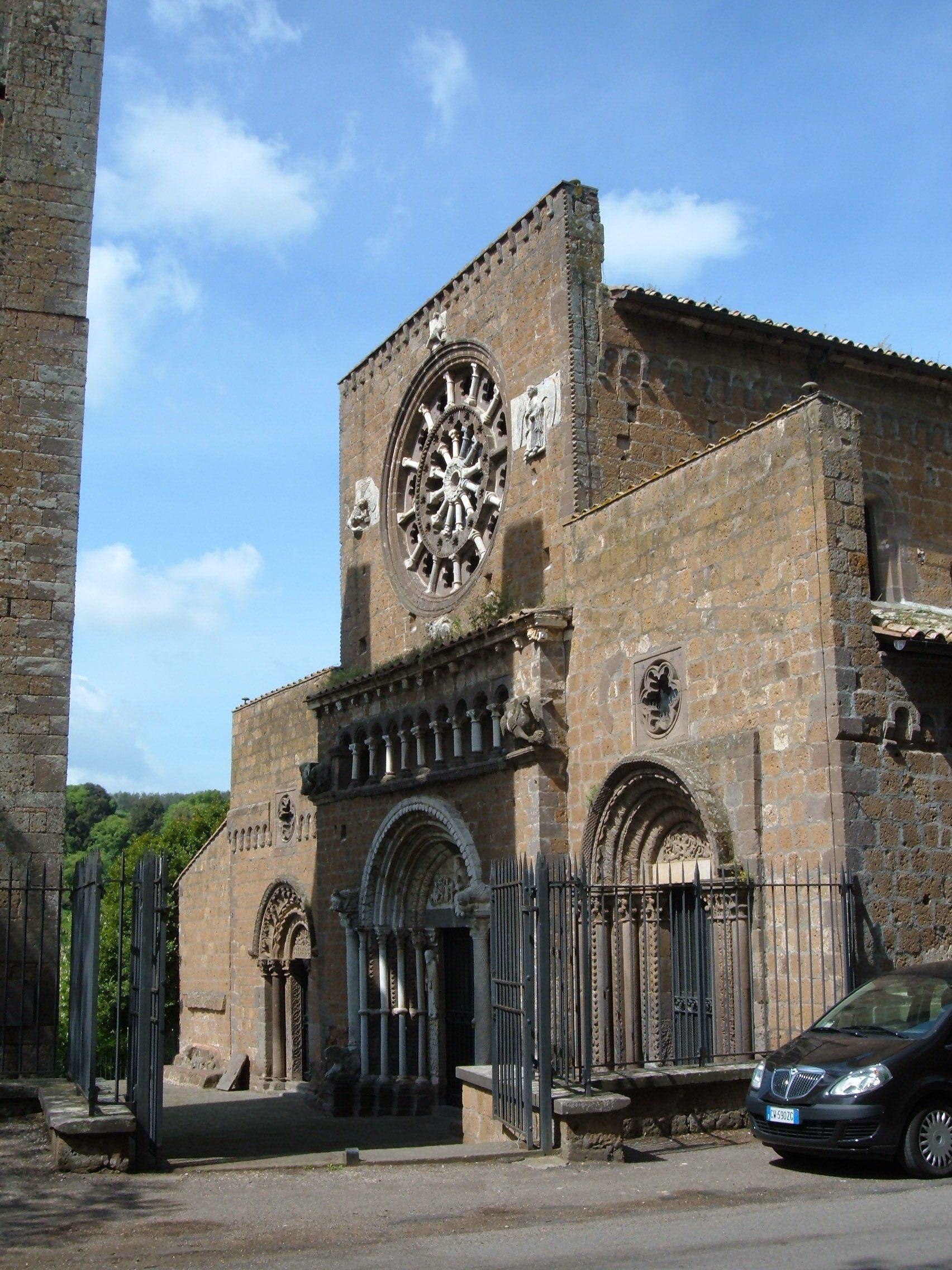 Chiesa Di Santa Maria Maggiore Tuscania Wikipedia