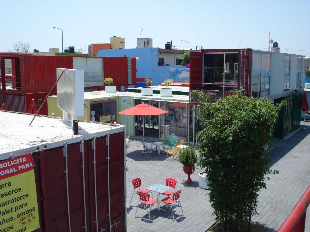 Cholula container city