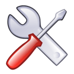 icon for works, tasks, tools and so on.
