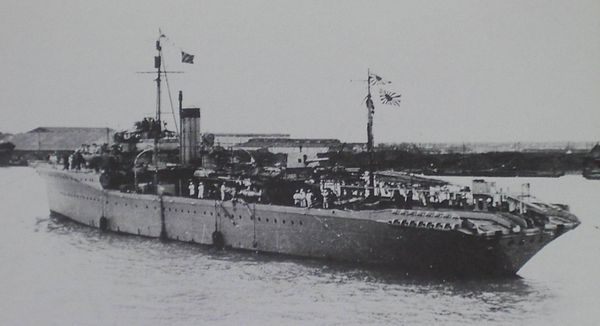 Japanese minelayer Shirataka  Wikipedia