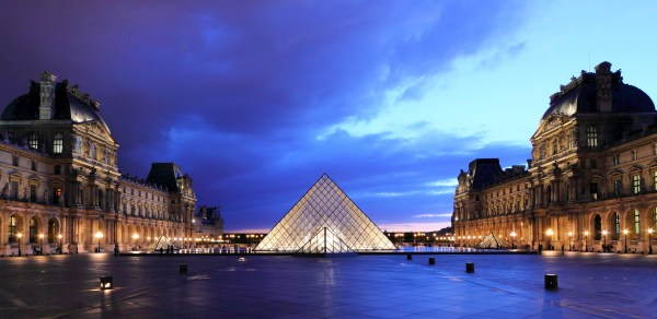 Louvre Pyramid Paris France