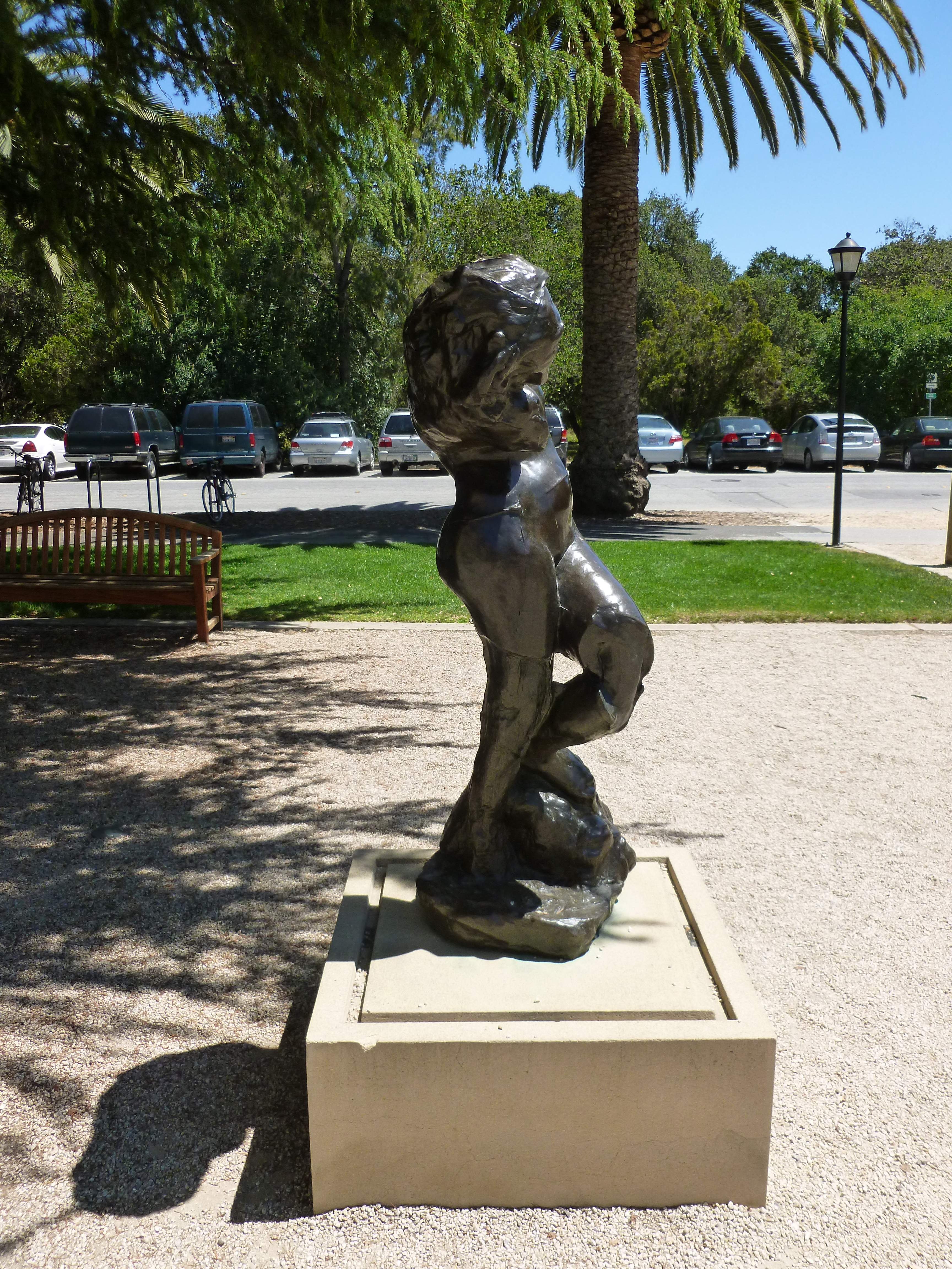 File:Meditation without Arms sculpture by Rodin; right ...