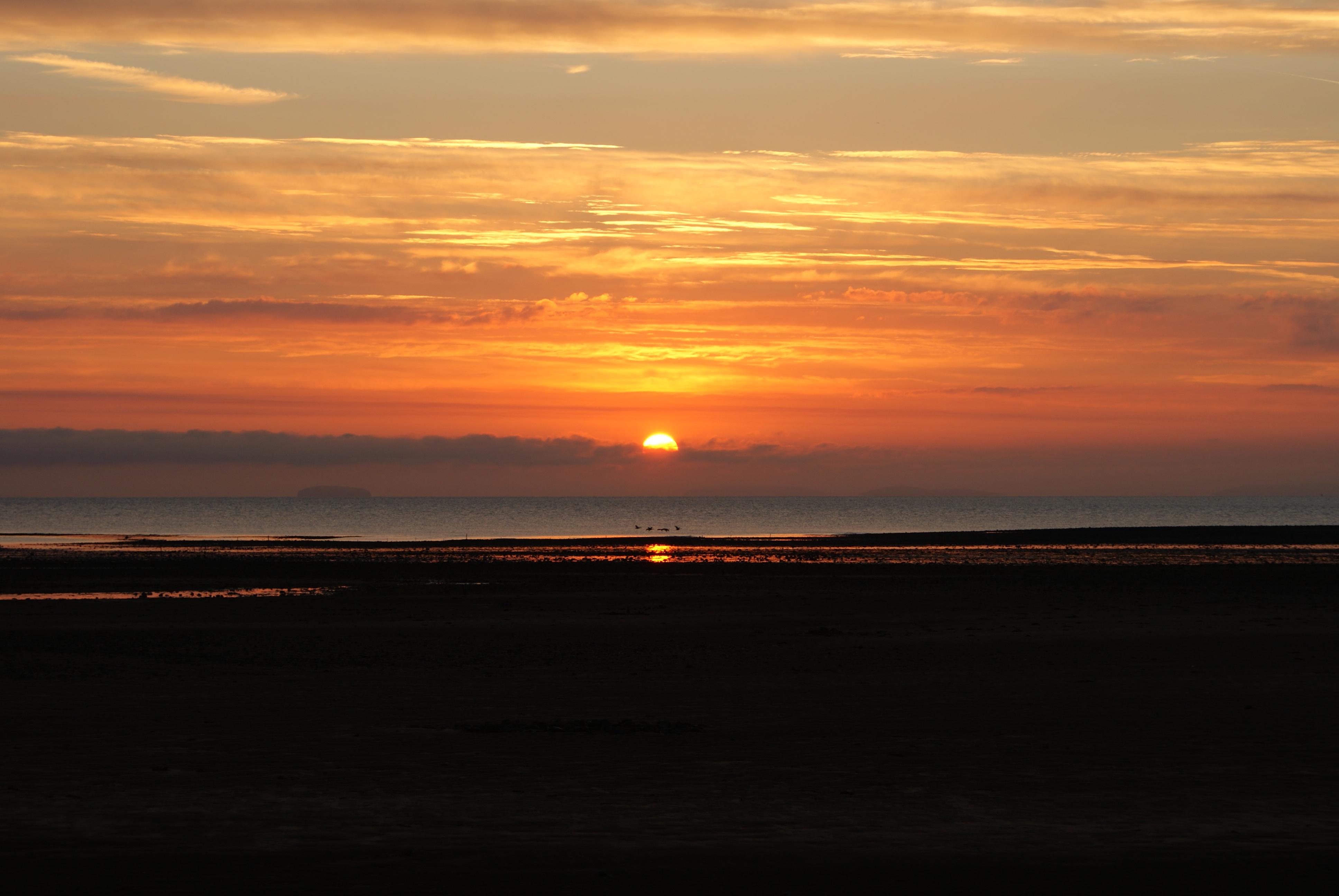 Sunrise Bristol Channel