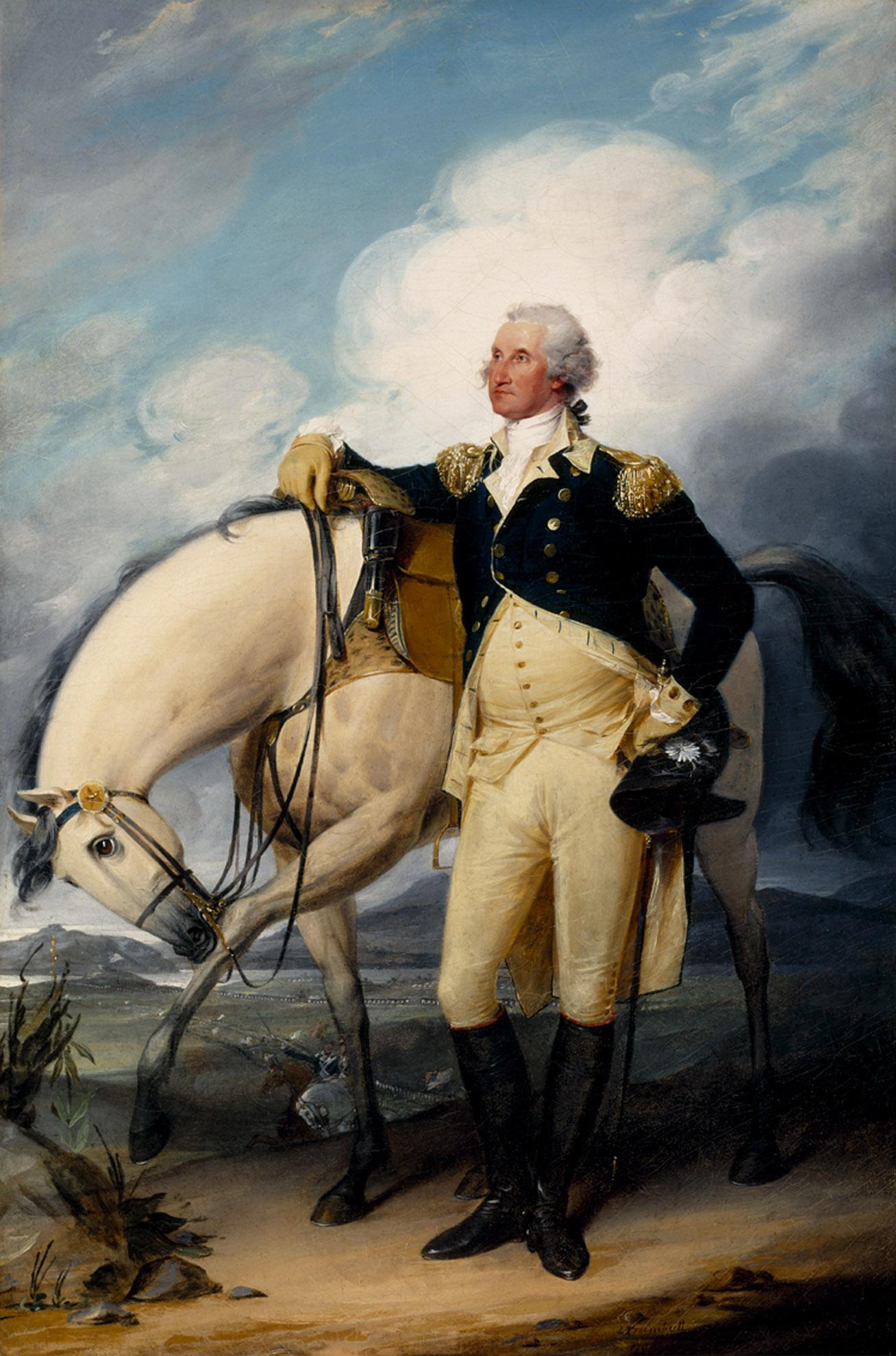 File Washington At Verplanck S Point By John Trumbull