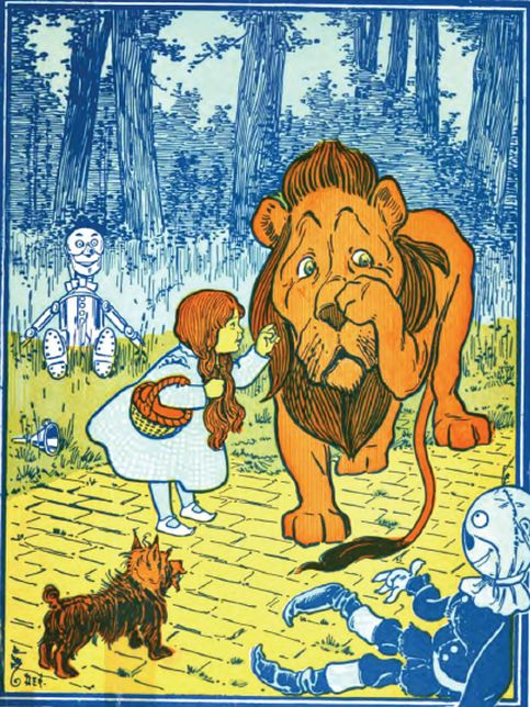 Illustration from The Wonderful Wizard of Oz