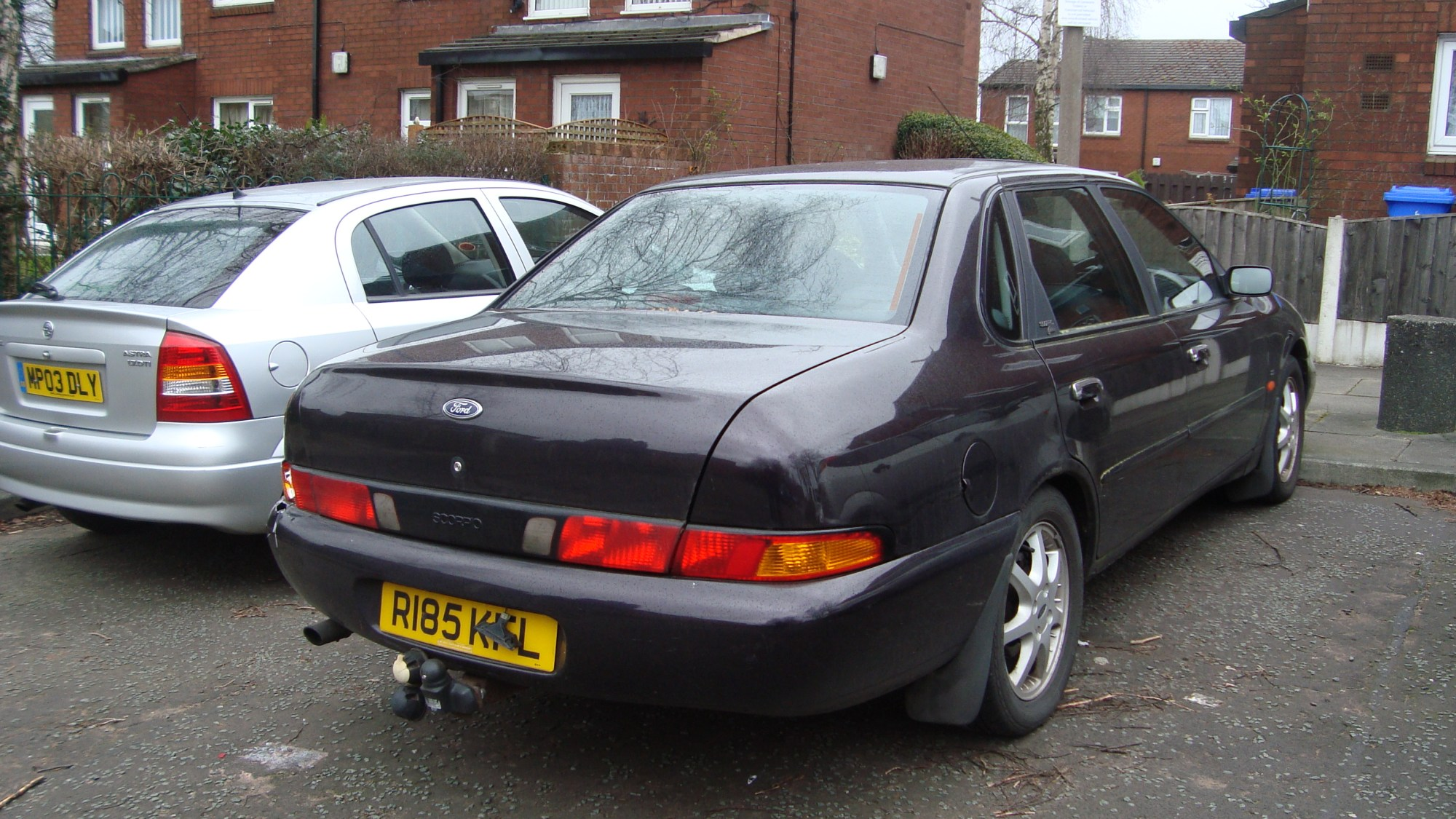 hight resolution of facelifted ford scorpio mk ii saloon