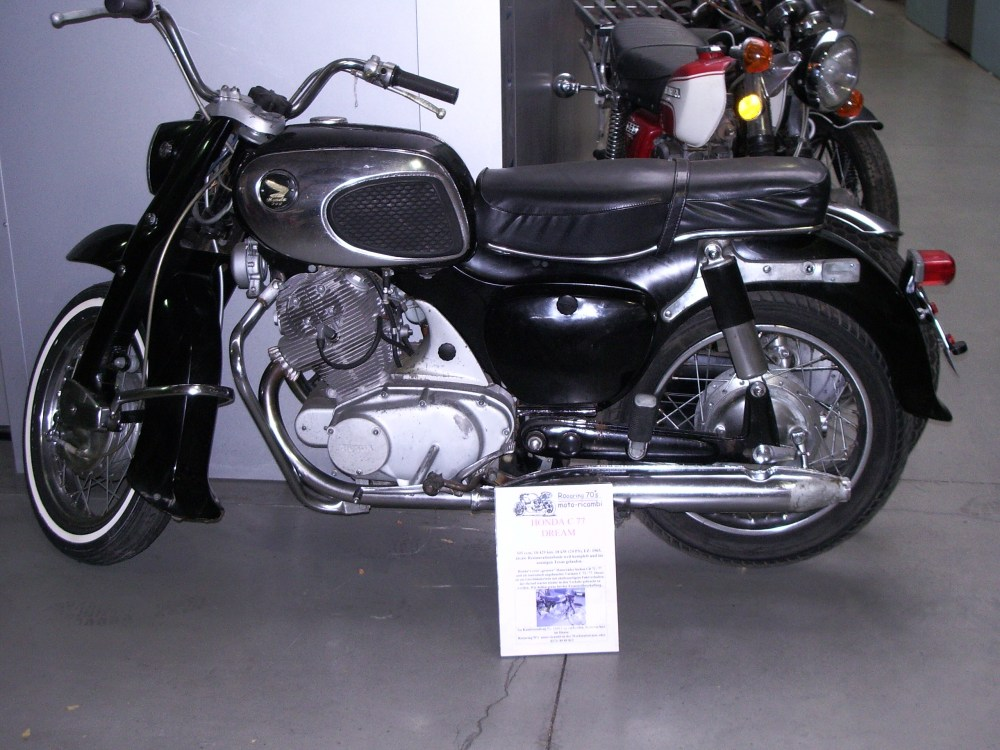 medium resolution of honda dream 305