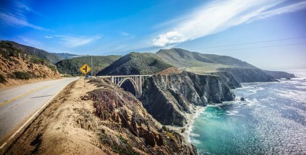 file bixby bridge big sur california