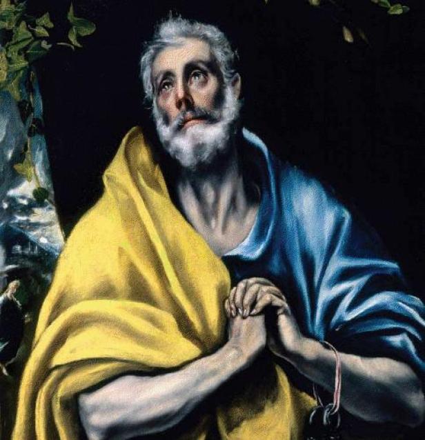 El Greco - Las lágrimas de San Pedro