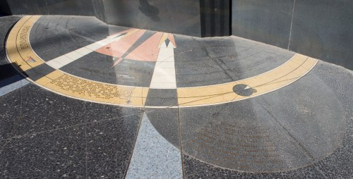small resolution of hoover dam memorial star map floor center area