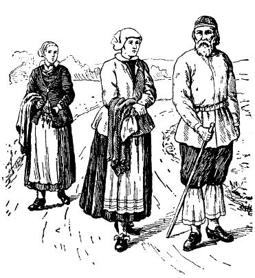 File:Morafolk i folkdräkt under början av 1700-talet