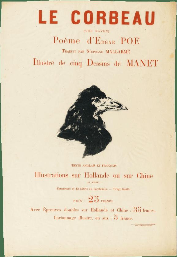 Edgar Allan Poe Le Corbeau : edgar, allan, corbeau, Corbeau, (poème), Wikipédia