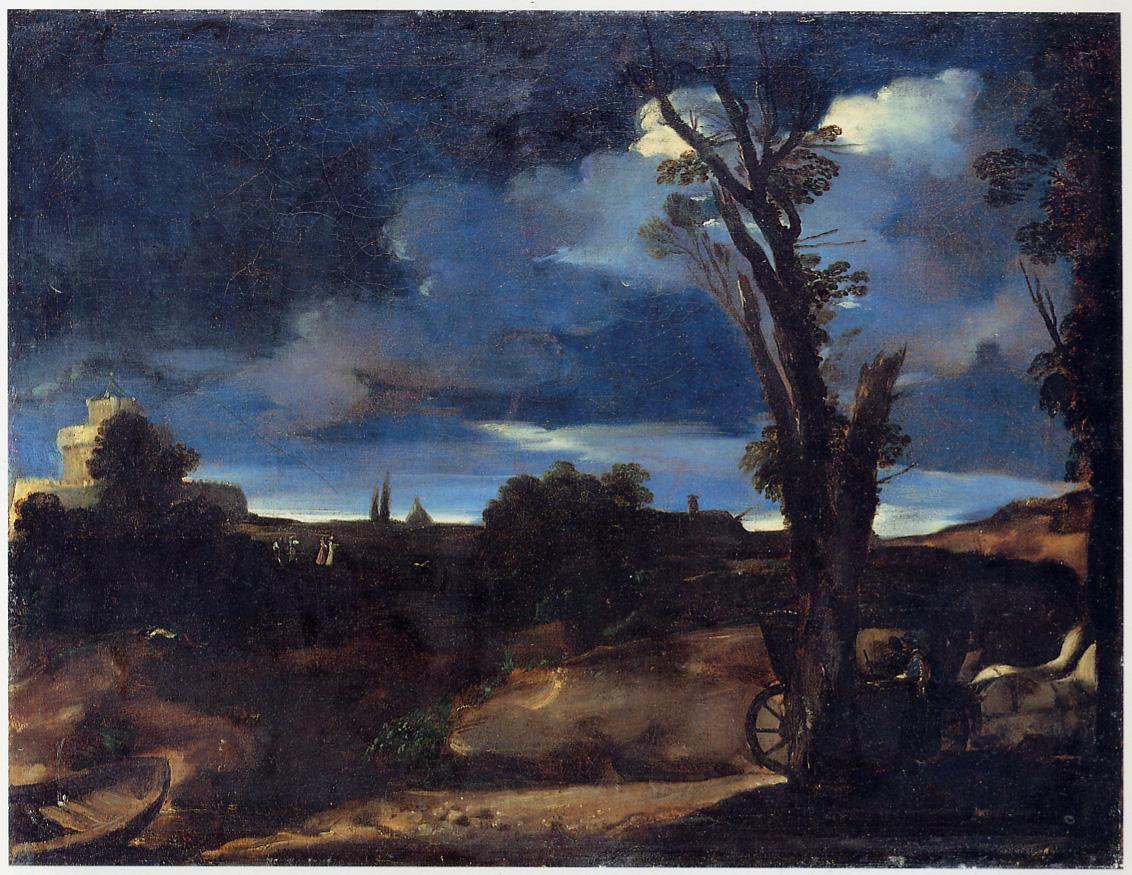 FileGuercino Paesaggio al chiaro di lunajpg  Wikimedia Commons