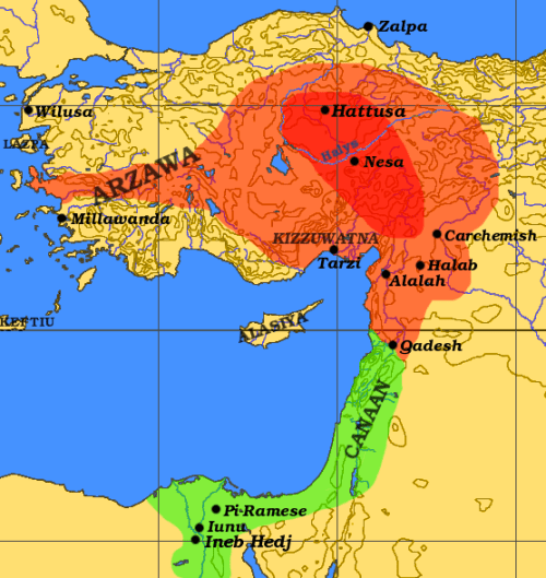 File:Hittite Empire.png