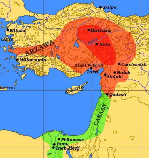 File:Hittite Empire.png