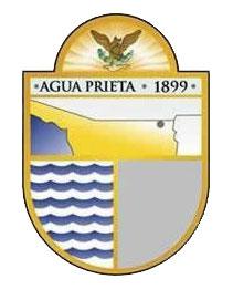 English: Logo of Agua Prieta.