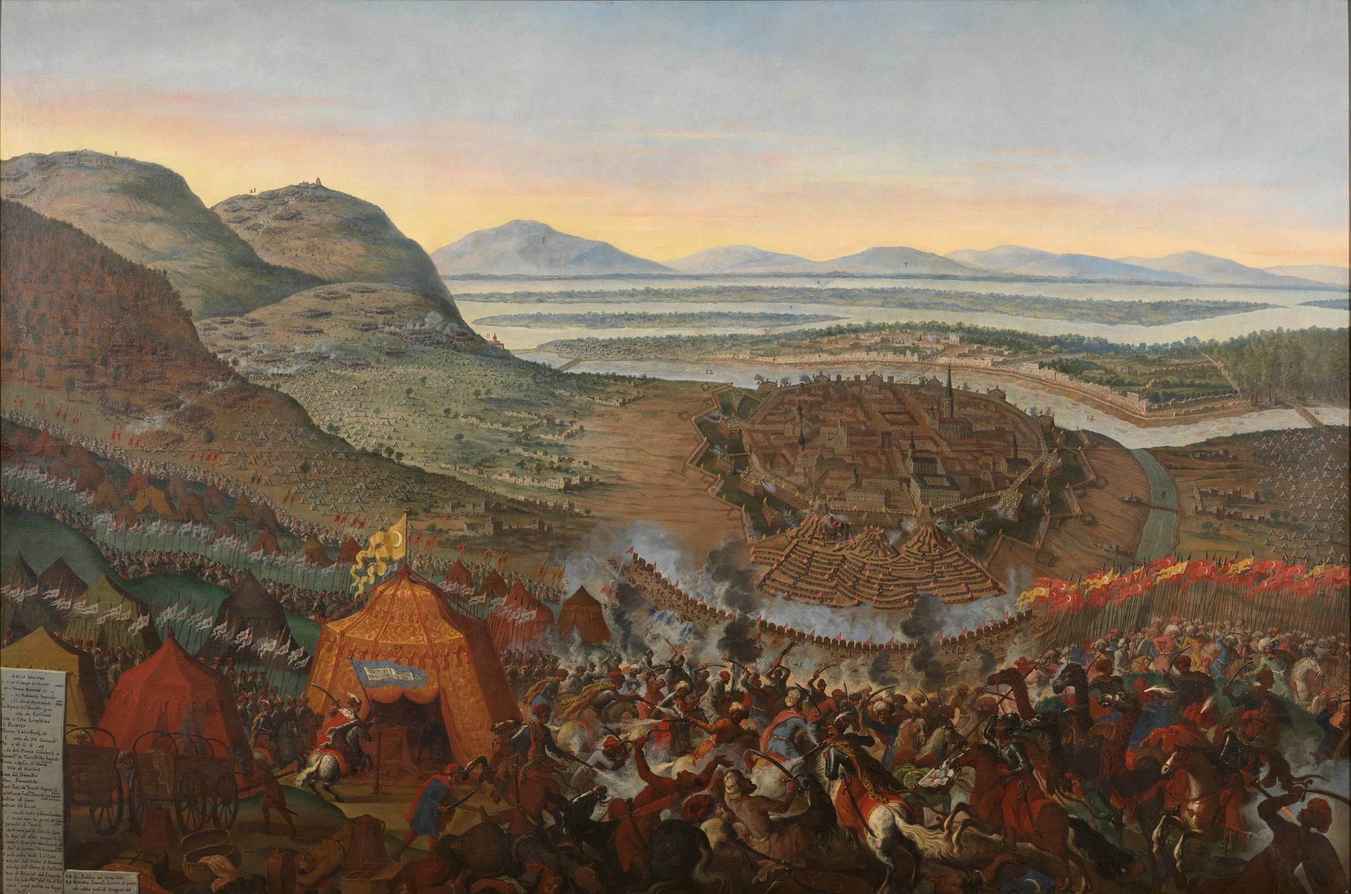 Christians Defeat Turks at Battle of Vienna.  Trusting in Our Lady, Jan Sobieski of Poland and His Cavalry Save the Day.