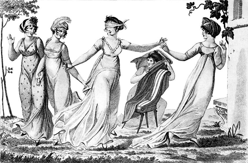 Blind mans bluff 1803 Wikicommons Dominio Público