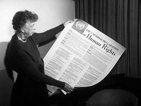 Eleanor Rooseveltová & Všeobecná deklarace lidských práv (1949)