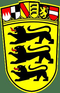 Landeswappen des Landes Baden-Württemberg