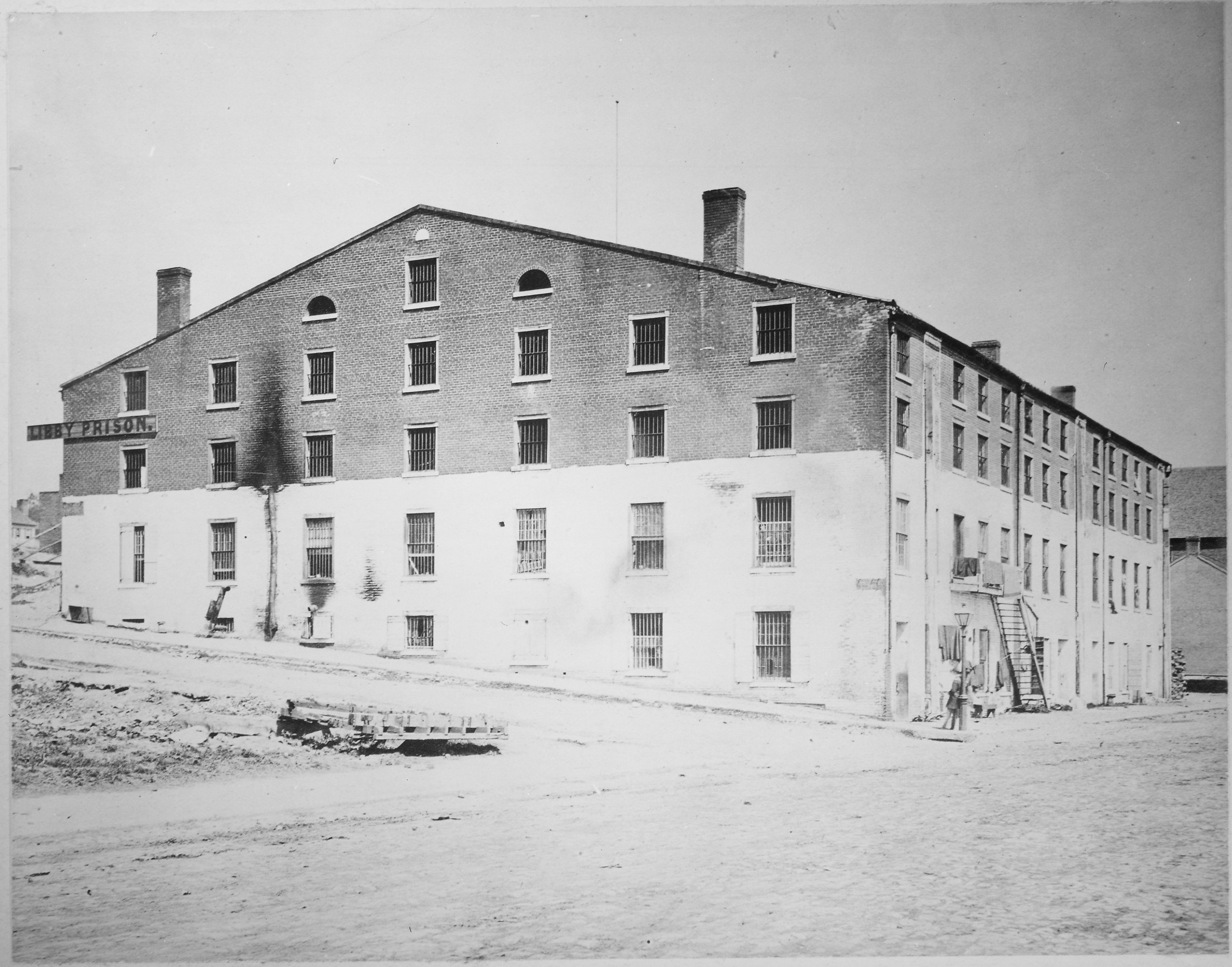 Libby Prison, NARA image, from Wikipedia