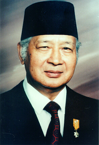 Suharto was the military president of Indonesi...