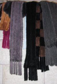 File:Woven mink fur shawls, 2011.jpg - Wikimedia Commons