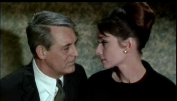With  Audrey  Hepburn in Charade