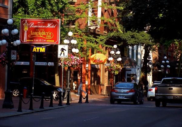 File Gastown. Streetscape In Gastown