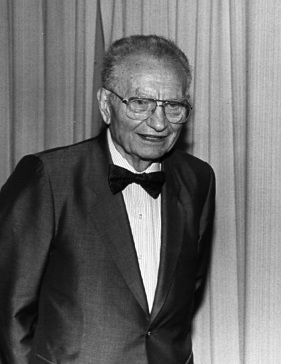 Paul A. Samuelson, an American economist. He w...
