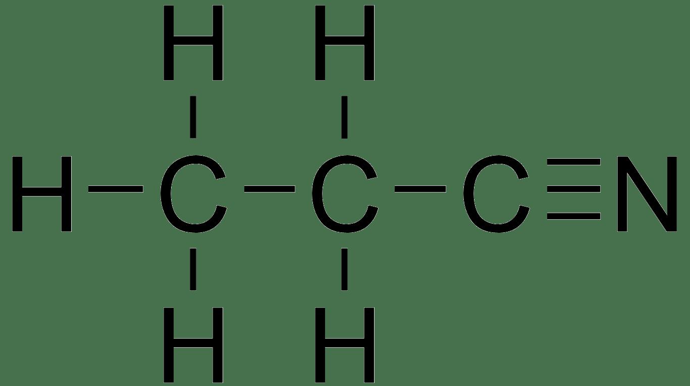 Image result for propane nitrile