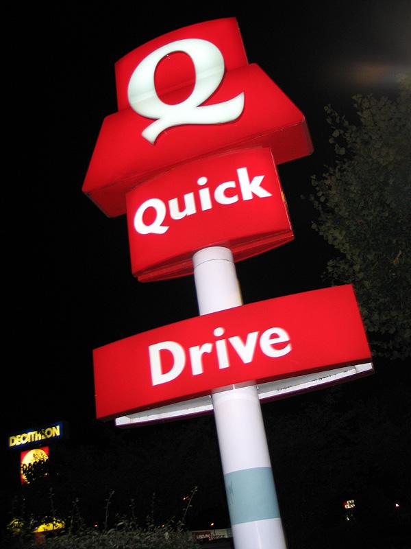 Quick Fast Food Restaurant
