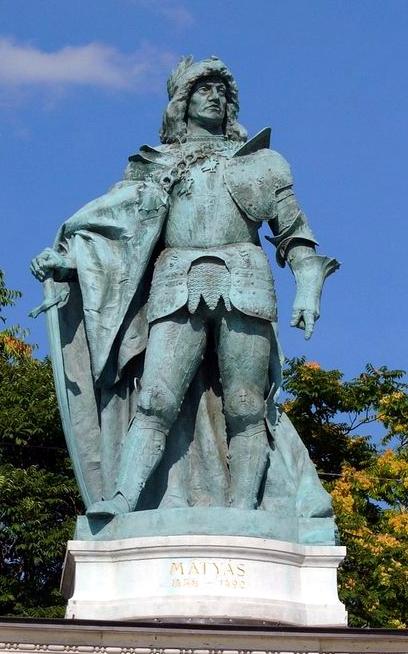 Regele Matia, statuie din Piaţa Eroilor, Budapeste