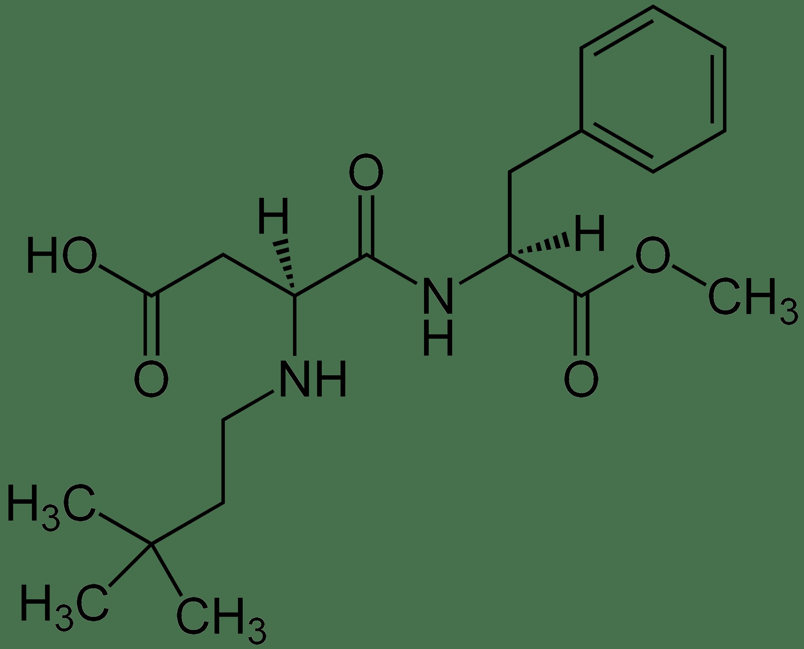 Archivo Neotame Structural Formulae
