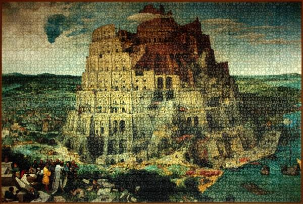 File Pieter Bruegel Elder - Tower Of Babel Vienna Ravensburger Puzzle