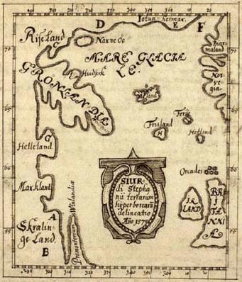 La mappa di Skálholt