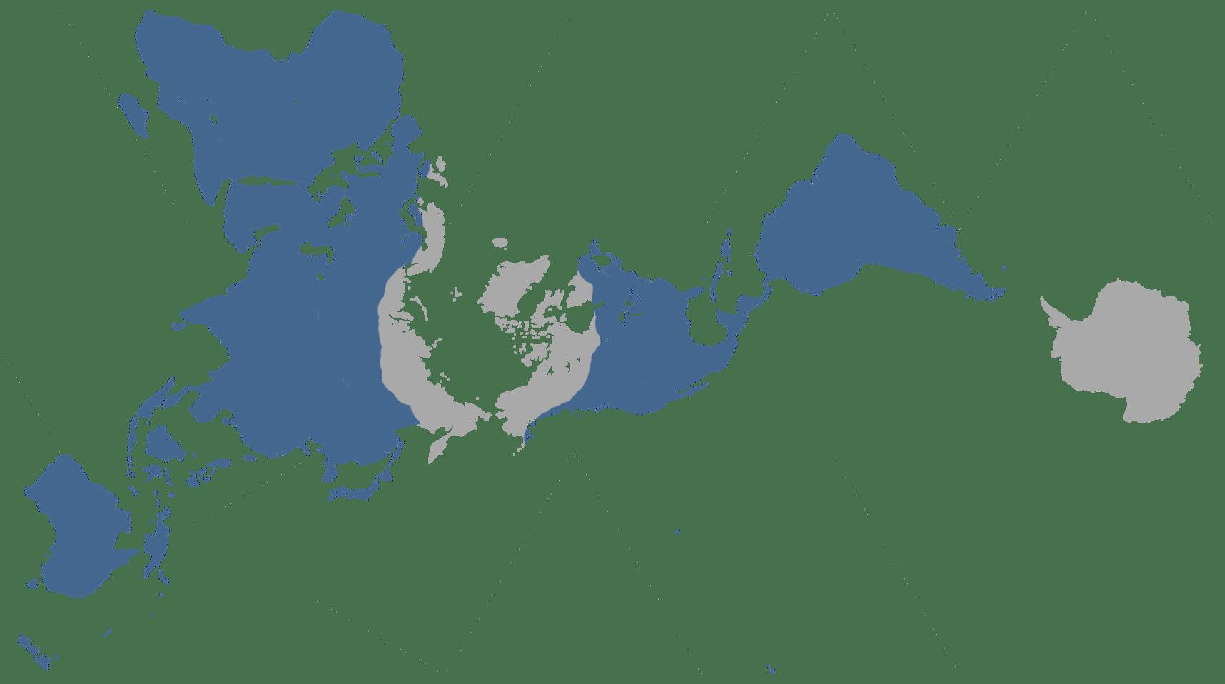 Distribution spatiale des chauves-souris à travers le monde