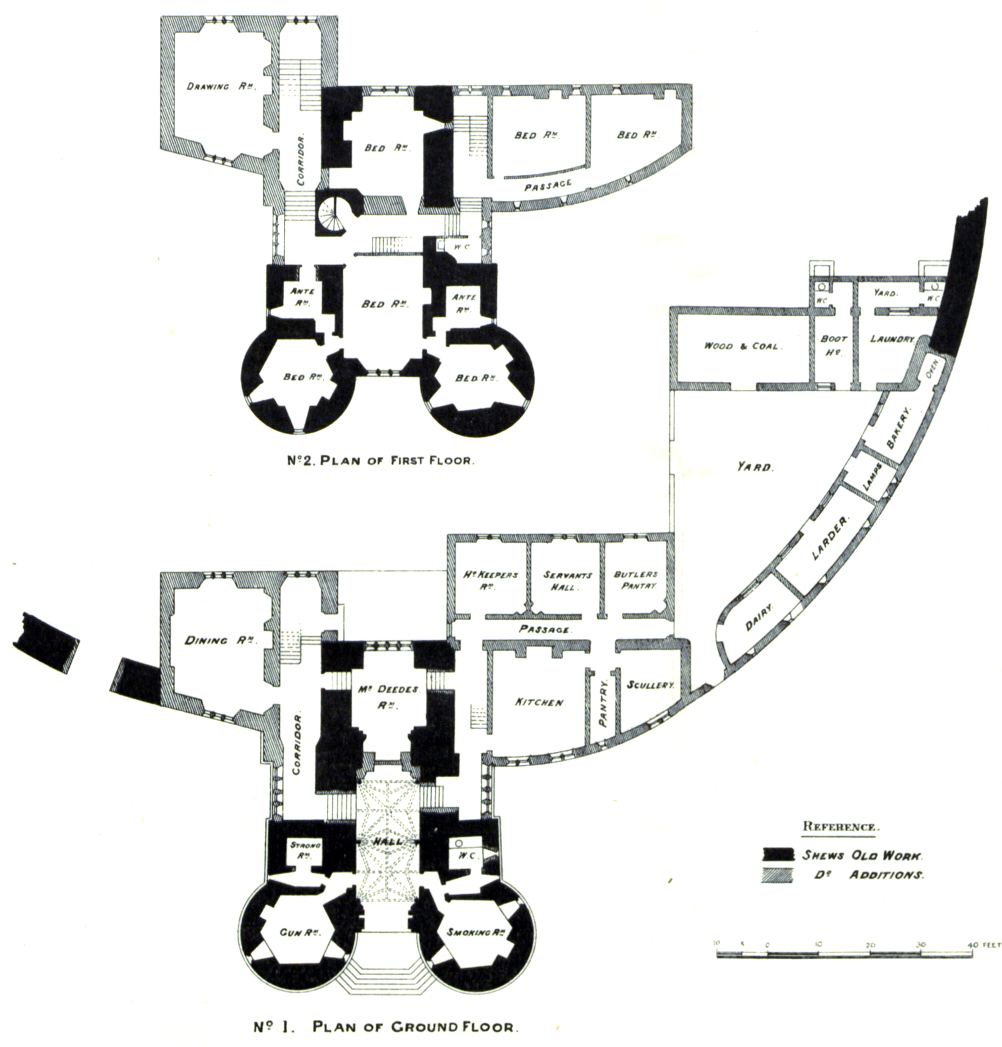 File Diagram Showing Reconstruction Of Saltwood Castle