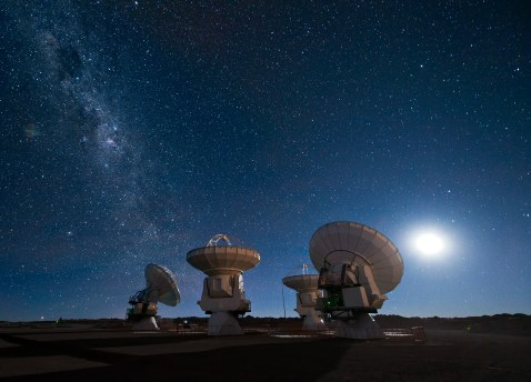 Image result for atacama desert telescope